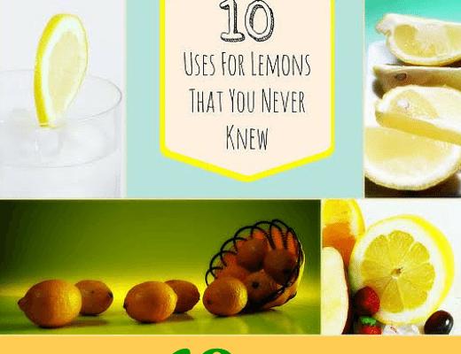 10 Uncommon Uses of Lemon Juice