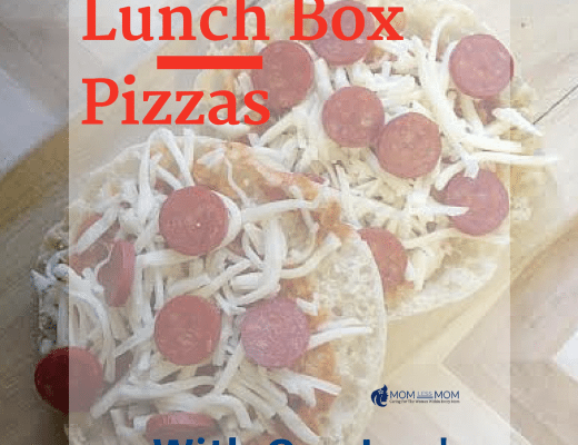 Lunch Box Pizzas- Perfect lunch for school or after noon snack