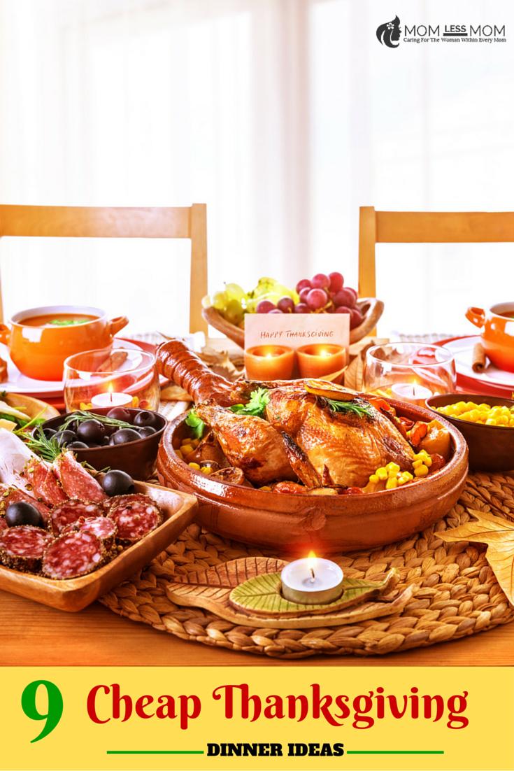 9 Cheap Thanksgiving Dinner Ideas