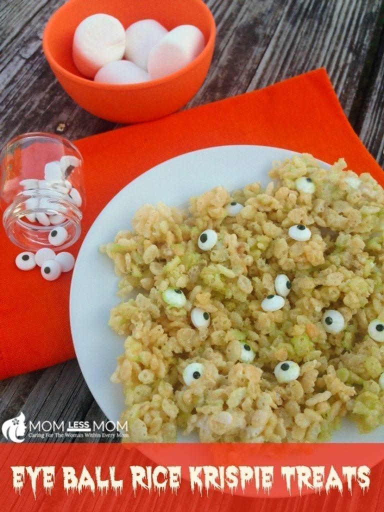 Halloween Rice Krispie Treats