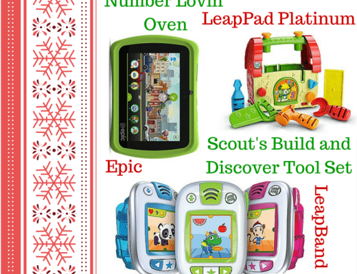 Best Learning Toys for Kids from Lea;pFrog- Holiday Gift Guide