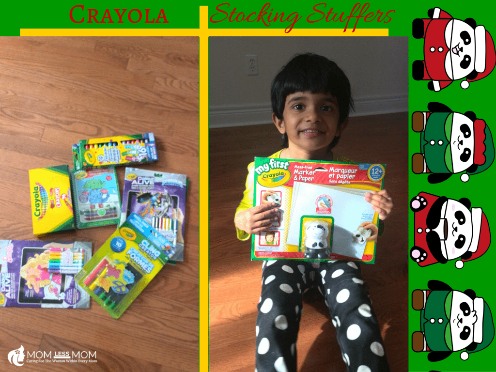 Holiday Gift Guide for Stocking Stuffers from Crayola