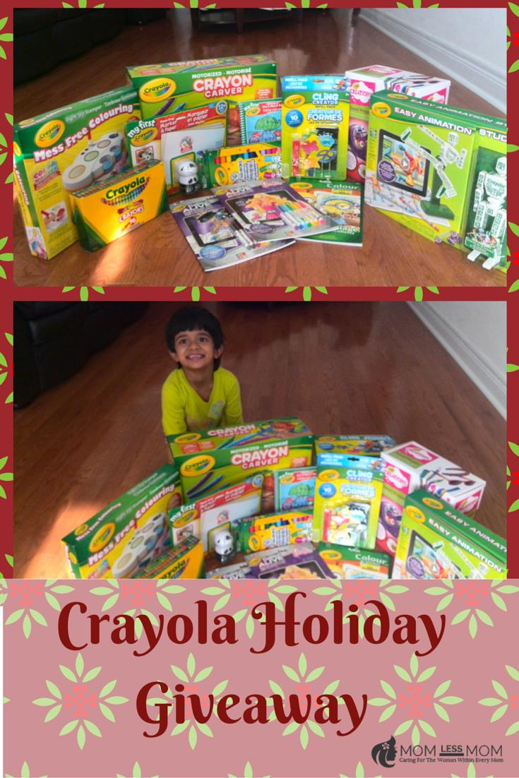 Crayola Holiday Giveaway