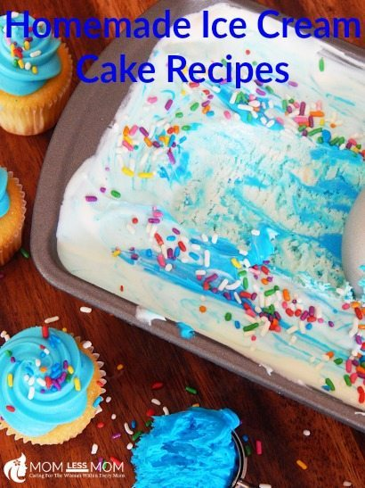 Homemade Ice cream cake recipes