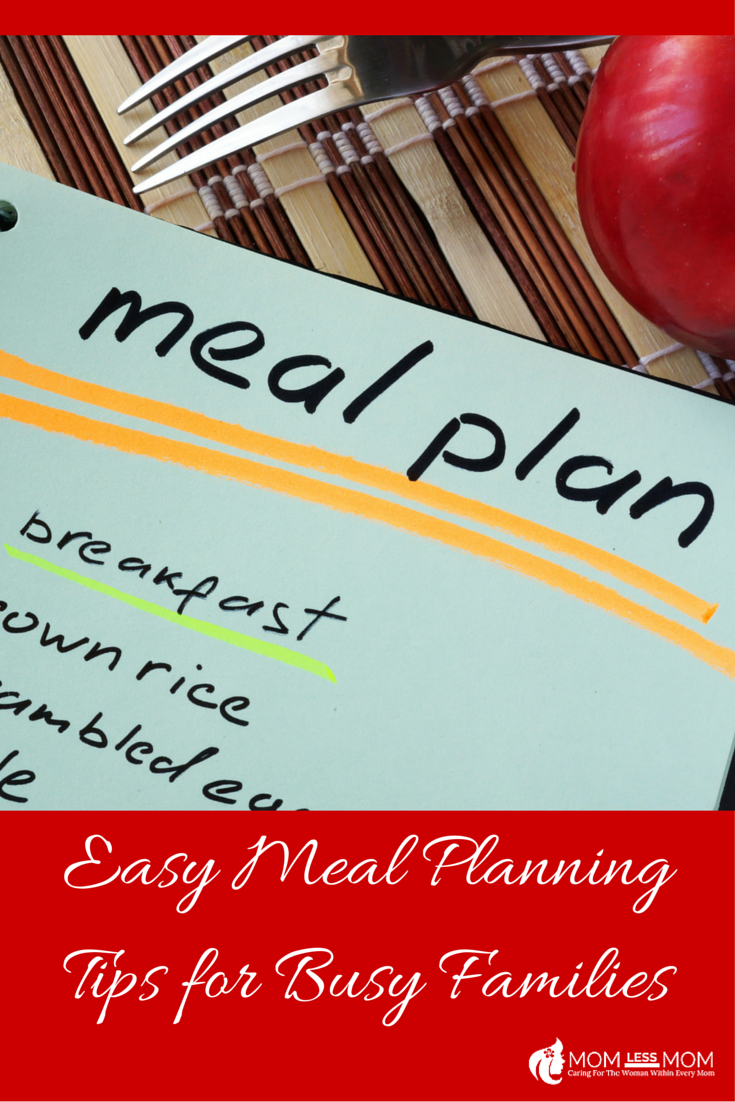 Easy Meal Planning Tips