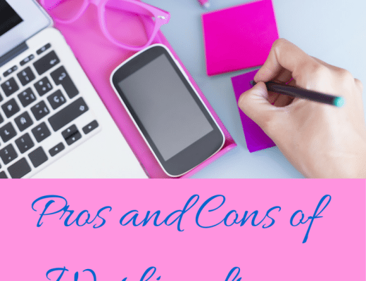 working from home-pros and cons