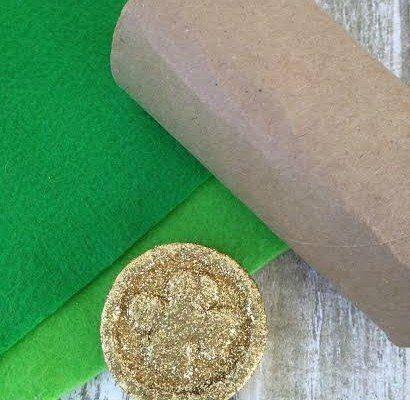 St. Patrick's Day Napkin Ring Craft
