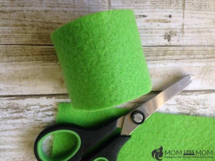 St. Patrick's Day Napkin Ring Craft