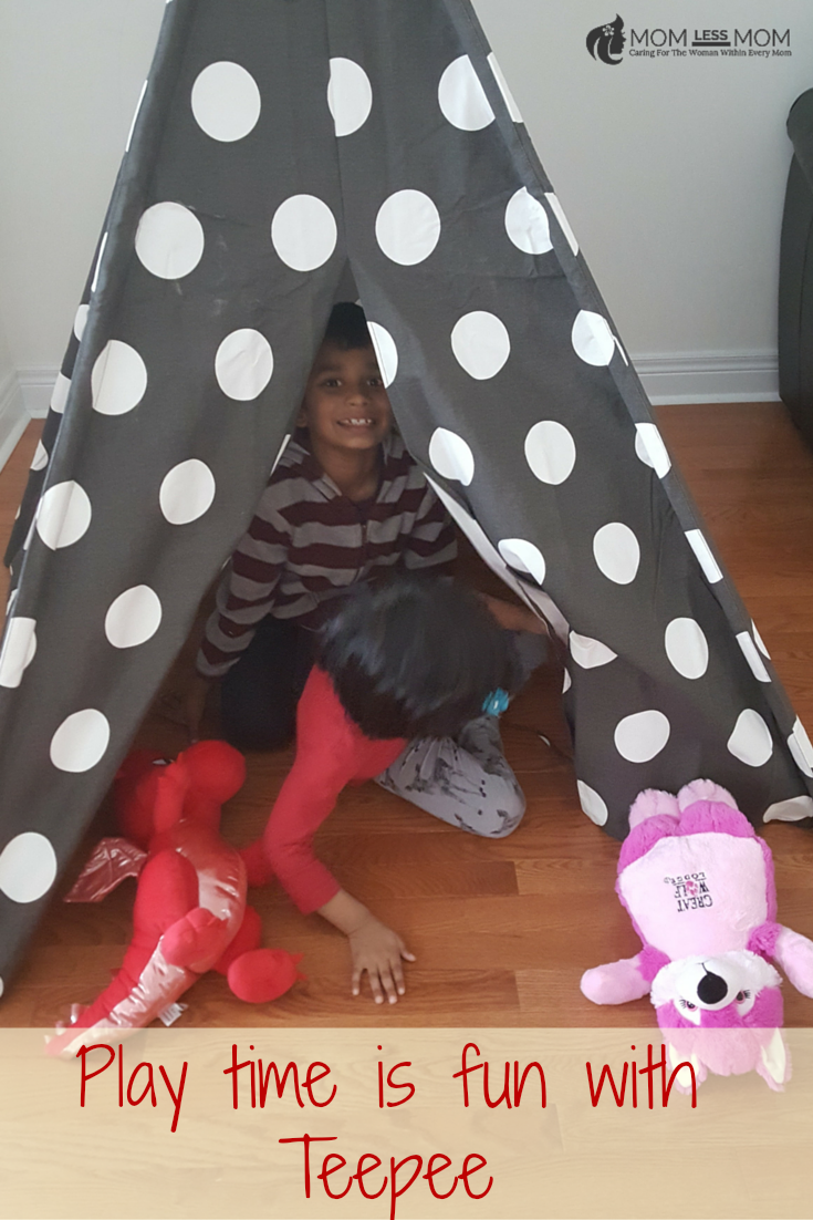 Play time if Fun with Teepee