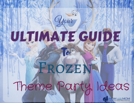 Frozen Theme Party Ideas