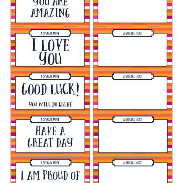 momlessmom lunch box notes