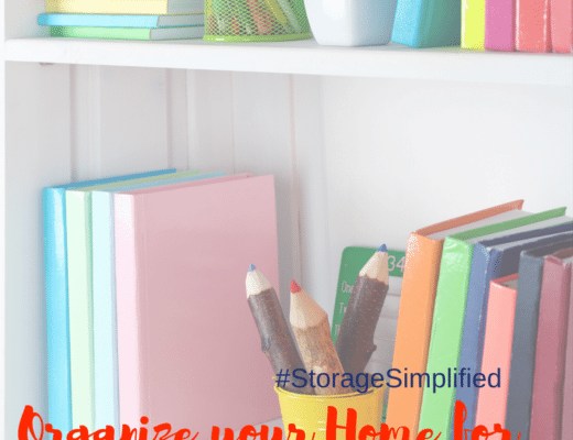 Organize your Home for Back to School with 3 Easy Tips