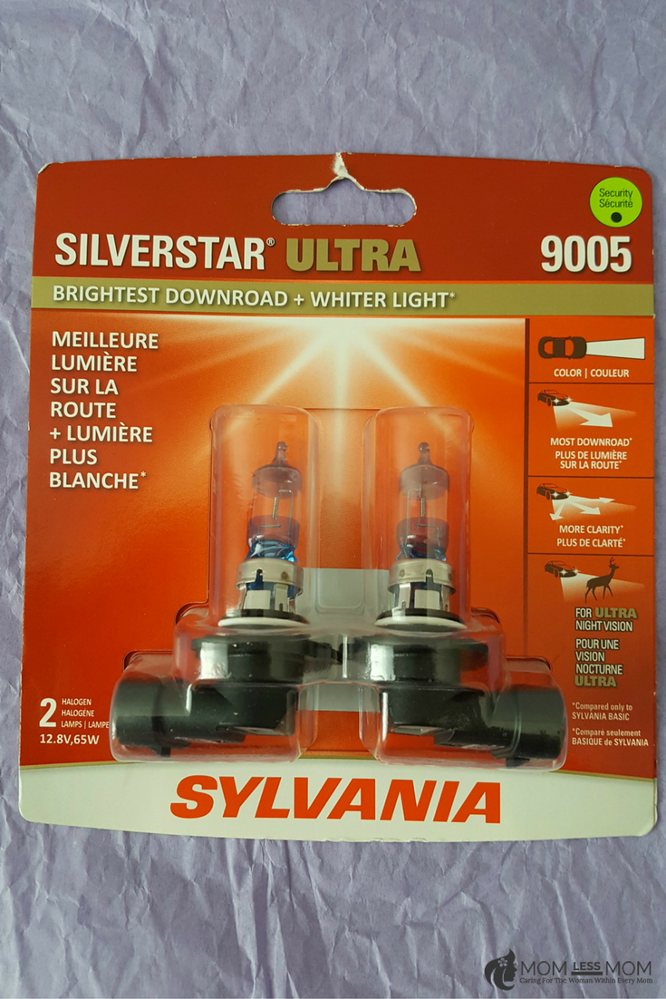 Sylvania SilverStar ULTRA headlights for superior night vision