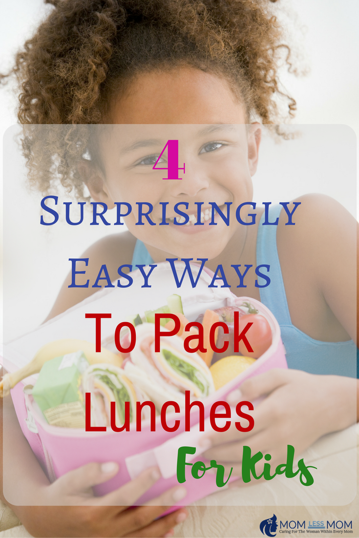 Easy Ways to Pack Lunch for kids