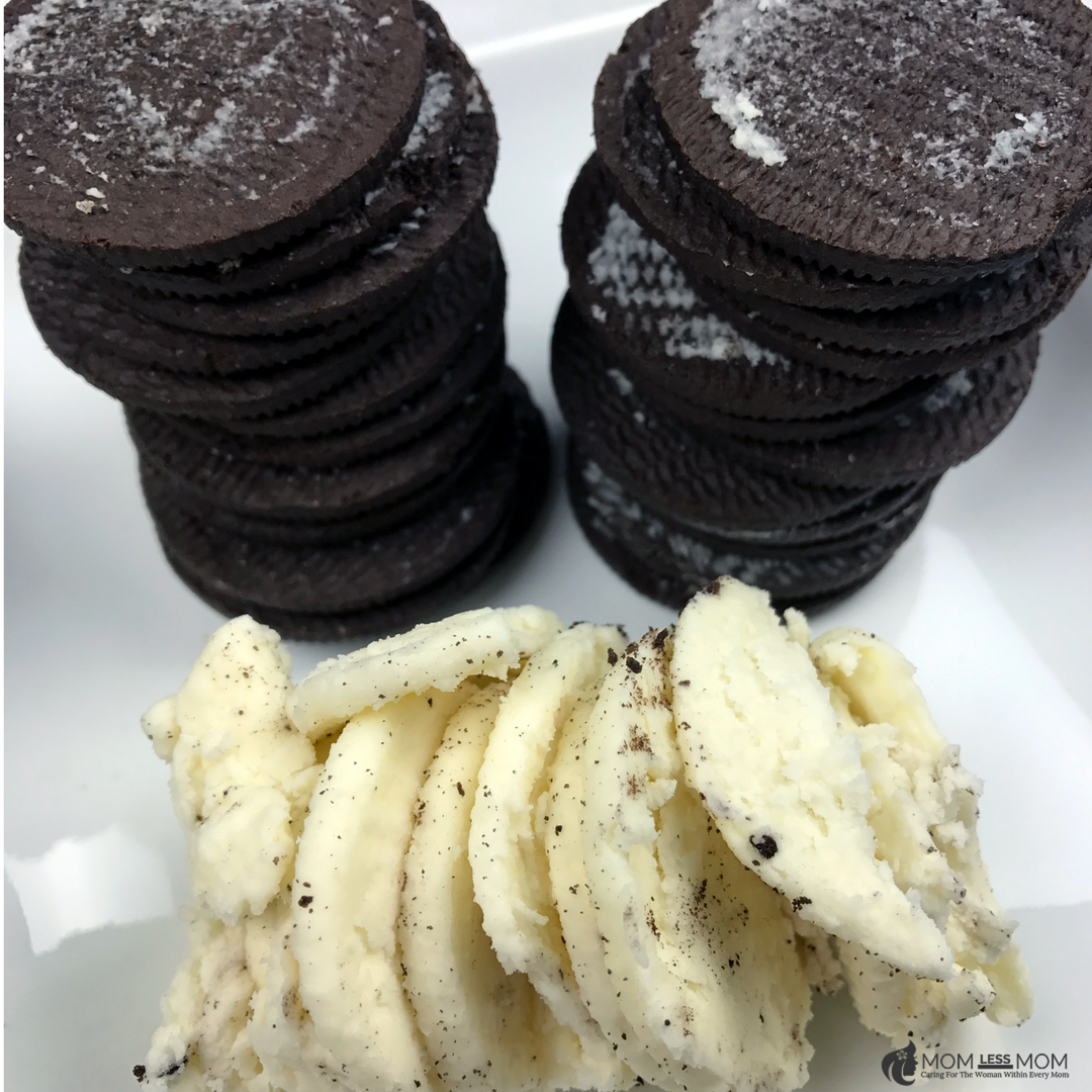 Oreo Filled Chocolate Hearts