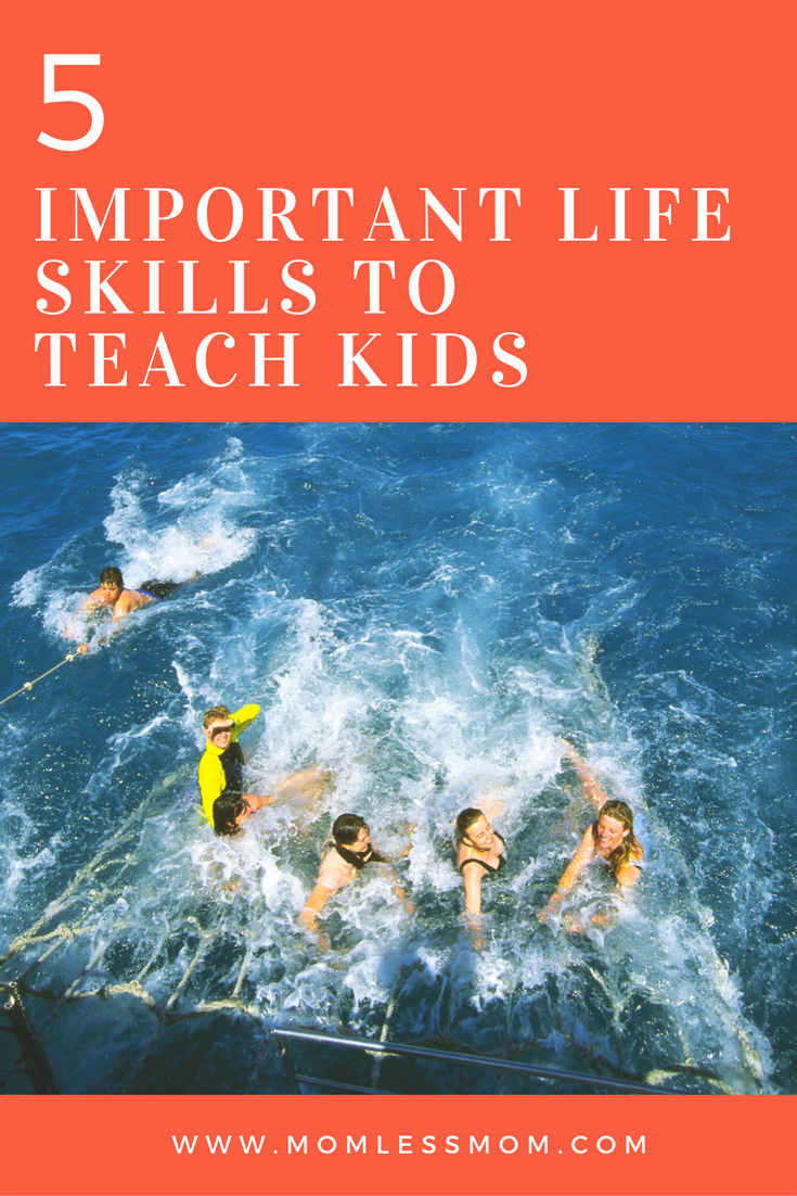 5 Important Tips to Teach Children Life Skills