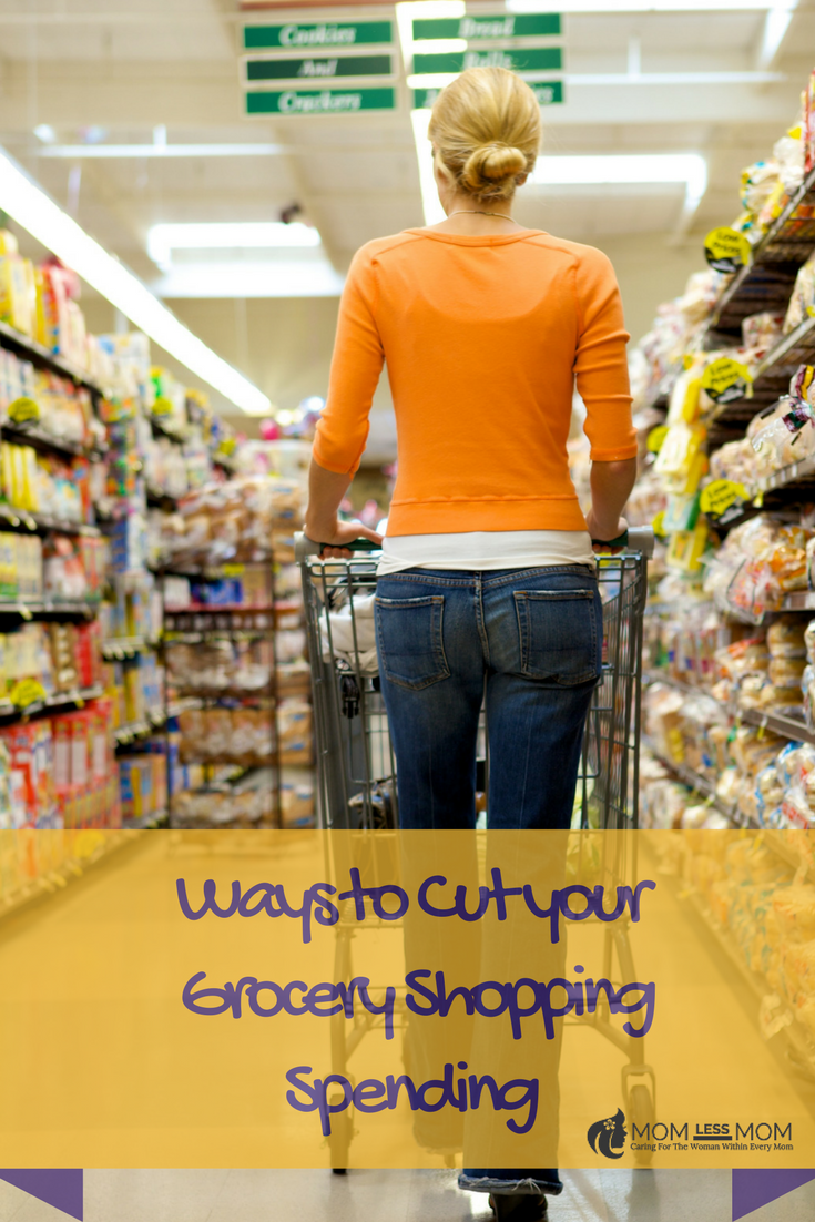Ways to cut down your grocery shopping