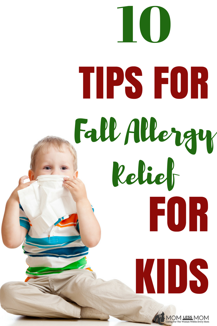Fall Allergy relief tips for kids