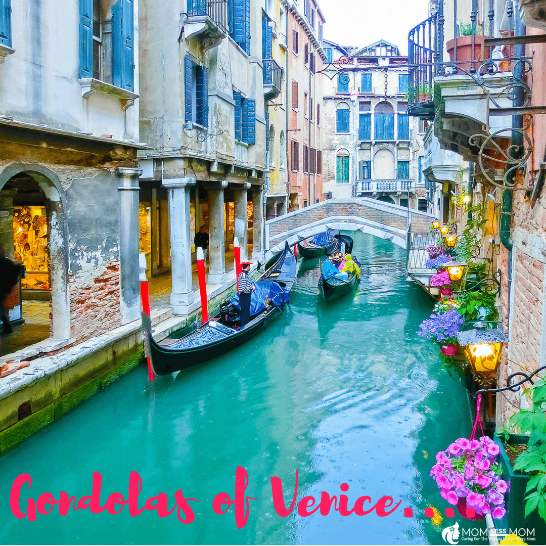 Gondolas and Waterways of Venice