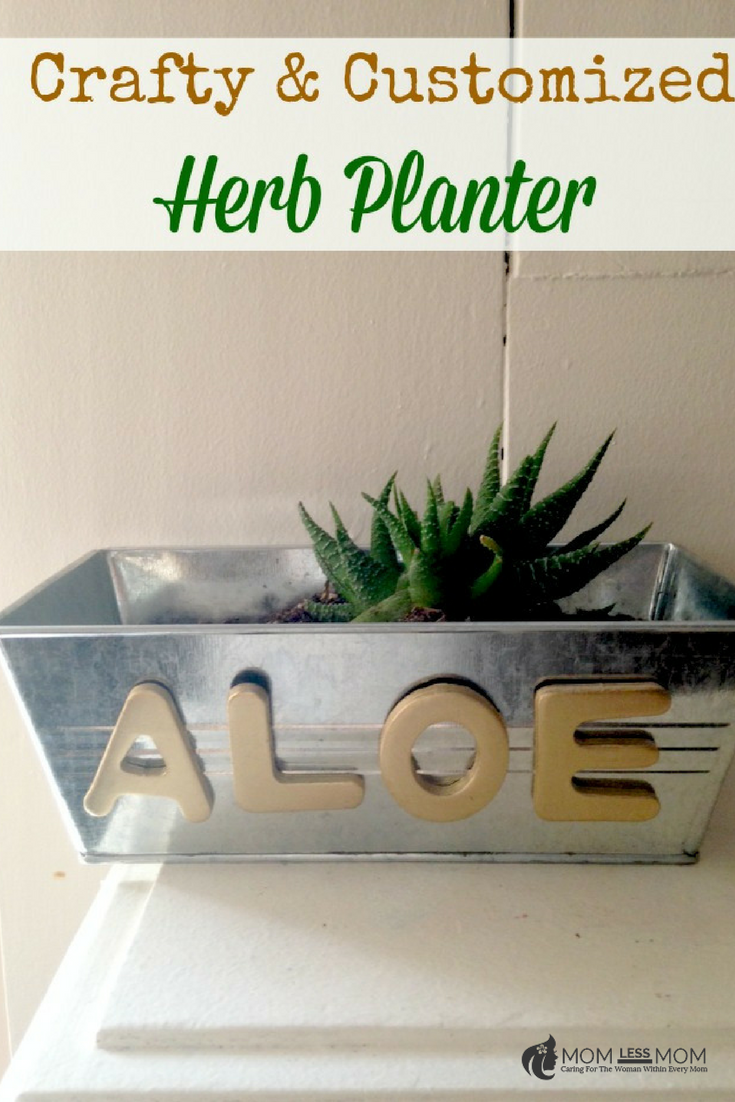 DIY Herb Planter- Craft for kids