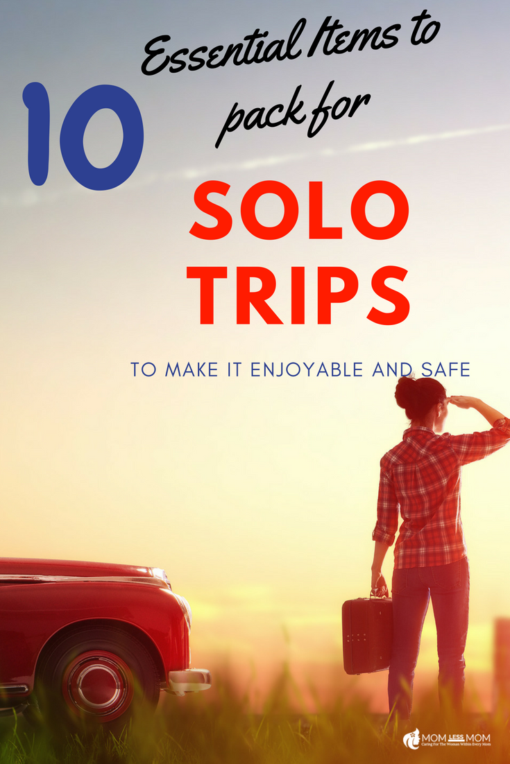 10 Essential items to pack for solo trips