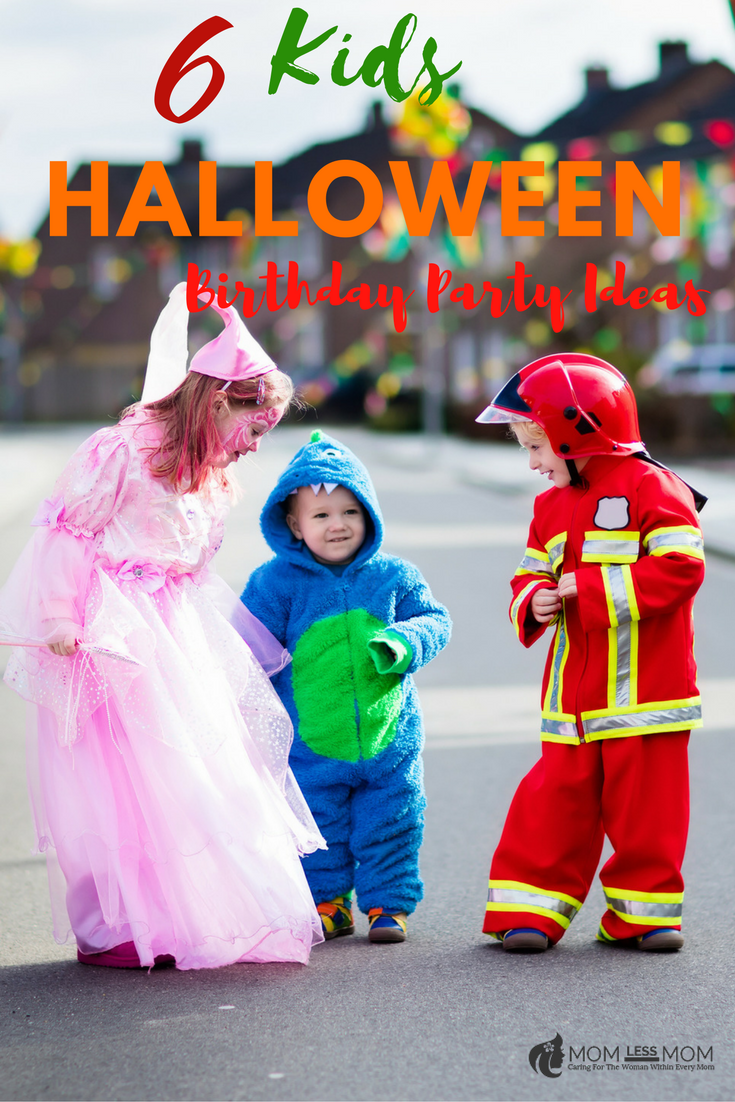 6 Kids Halloween Birthday Party Ideas
