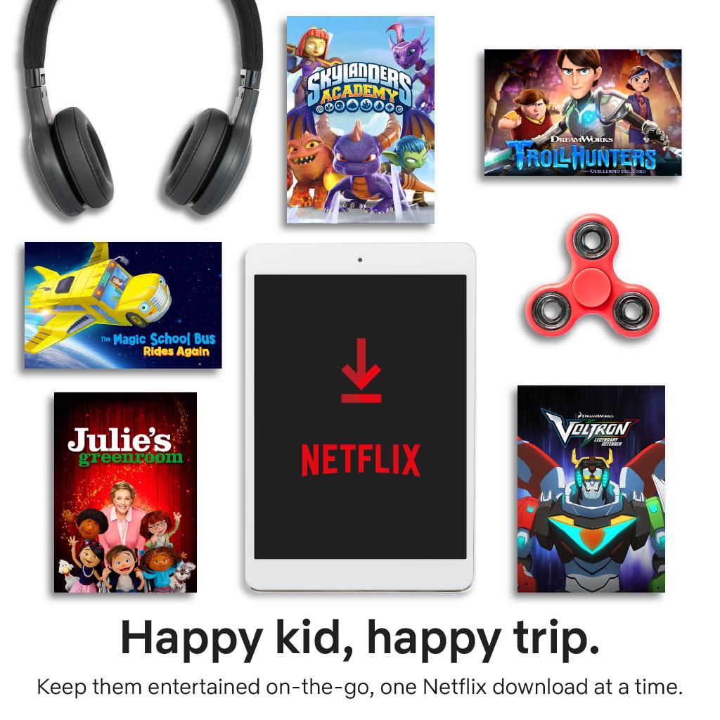 Netflix Packing Essentials for Big Kid