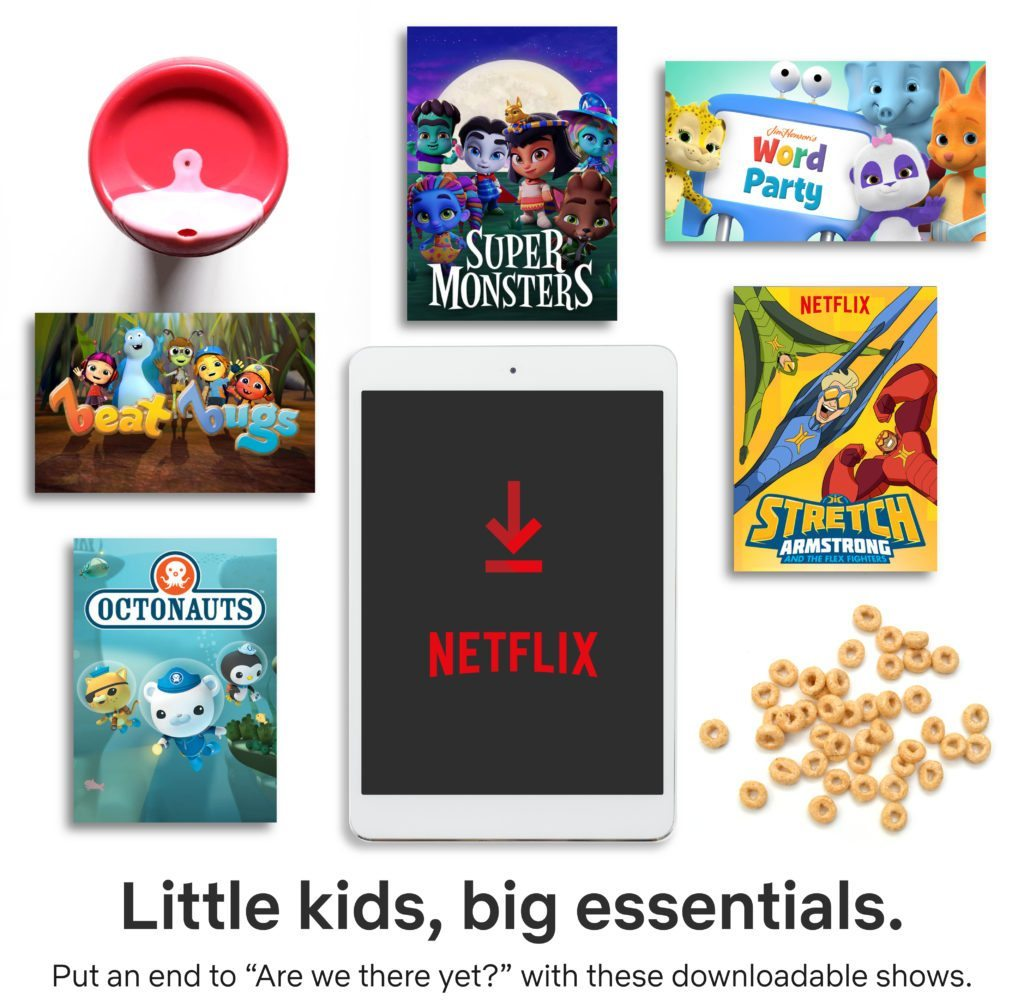 Netflix Packing Essentials for Little Kid