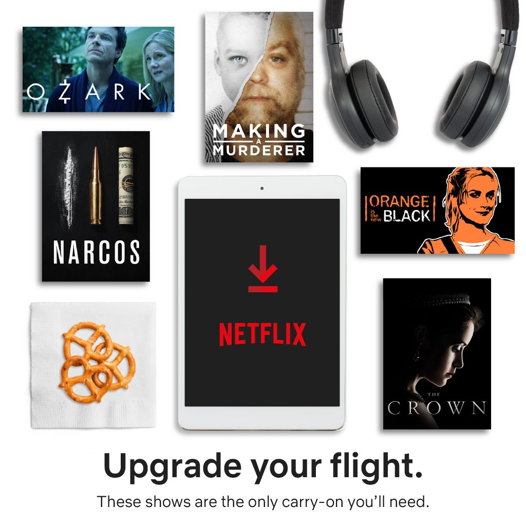 Netflix Packing Essentials for Parent