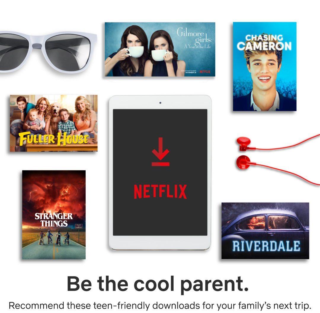 Netflix Packing Essentials for Tweens