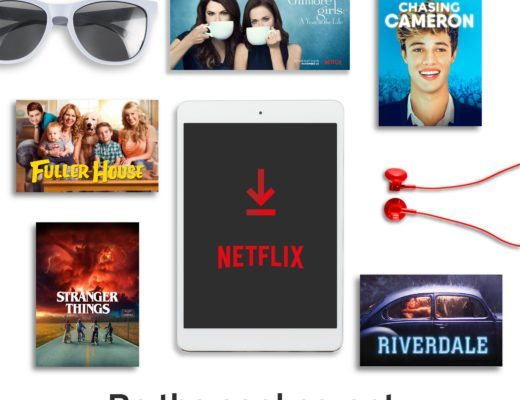 Netflix Packing Essentials for Tweens