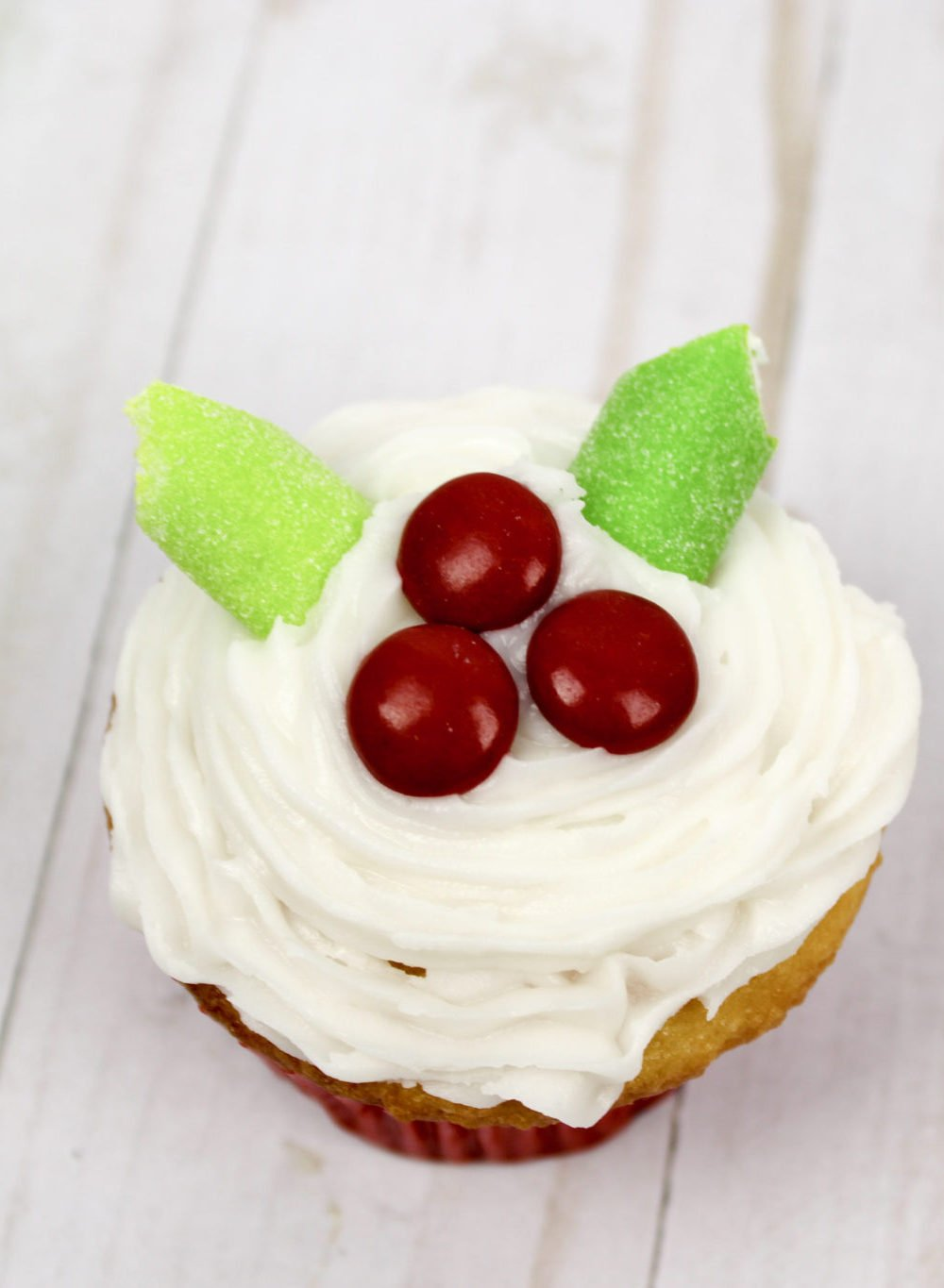 Mistletoe Cupcakes Recipe Ingredients
