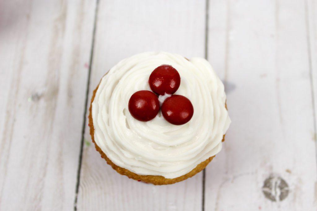 Mistletoe Cupcakes Recipe Ingredients