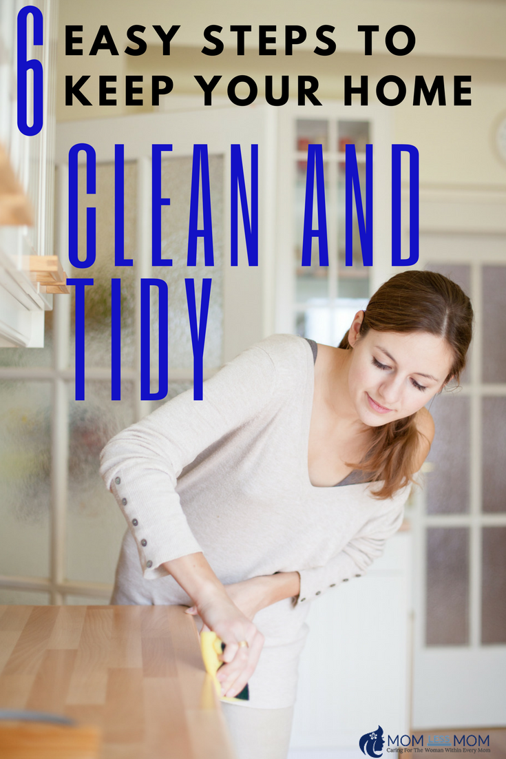 6 Easy tips to keep your home clean and tidy