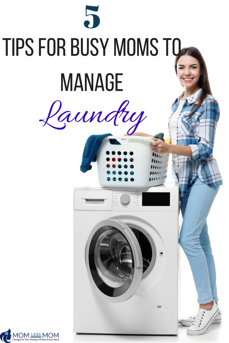 Everyone has to have clean clothing, so these Tips For Busy Moms To Manage Laundry are going to be a huge help to your routine.  From sorting to folding and putting things away, busy moms everywhere need to be able to manage laundry without a fuss. A few simple tricks will help them to keep things going without stress