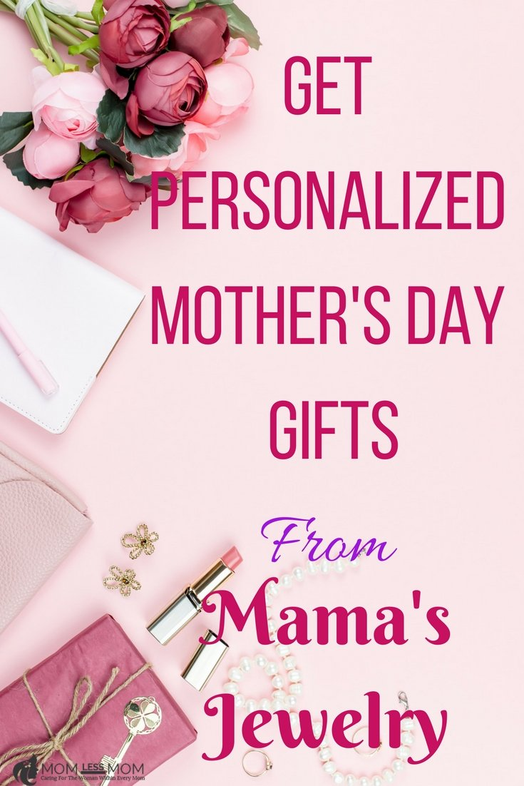 This year, shop for Mother's day personalized gifts at Mama's Jewelry. Your Mom will truly appreciate the thoughtfulness. Best place for online Mother's day gifts! #Mothersday #BestMothersdaygift #mothersdaygiftideas