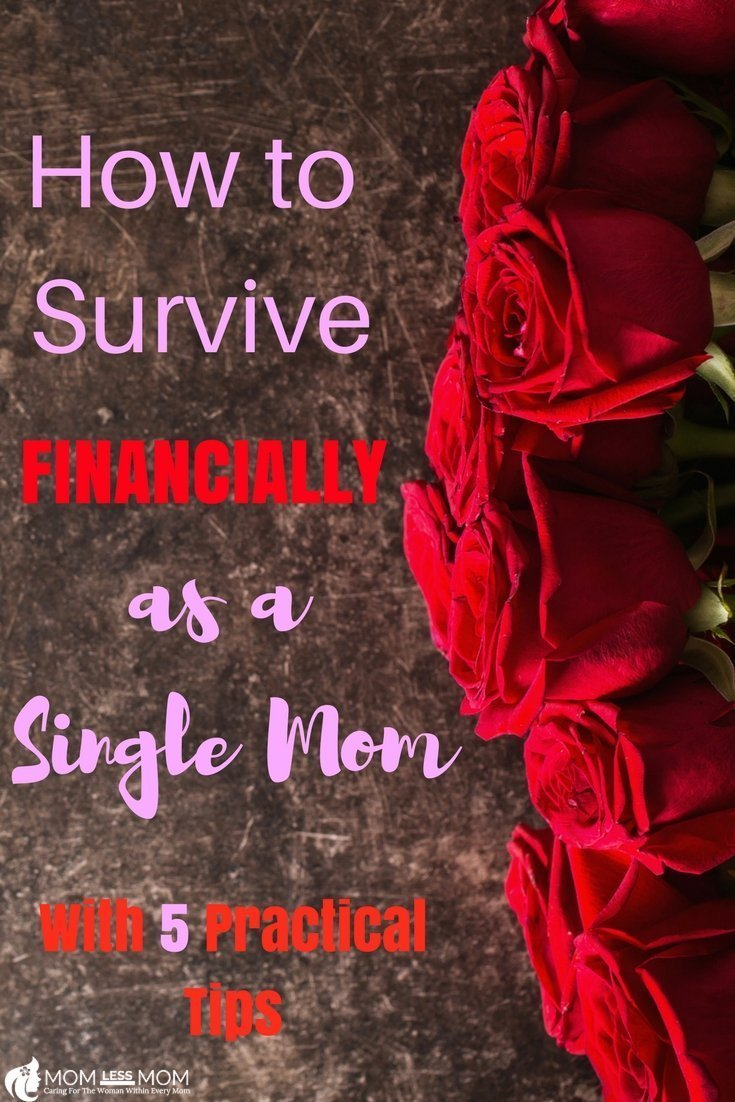 The financial side of single parenting-How to survive financially as a single mom when the going gets tough? Having just enough to live comfortably or scrambling to make both ends meet-both can decide the fate of those involved, favorably or not. Here are some tips to survive financially as a single mom #momcare