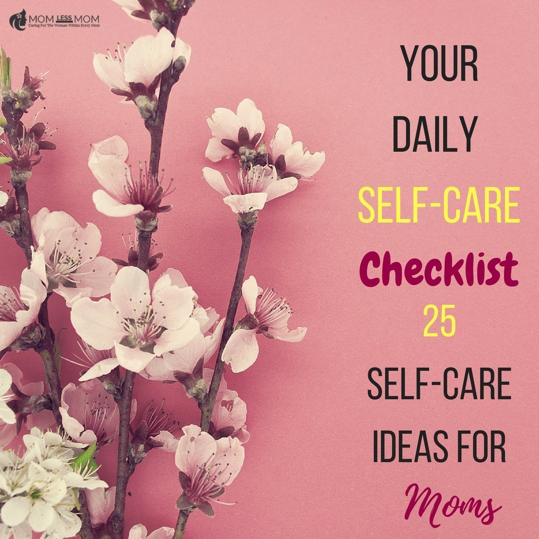Daily Self-care checklist