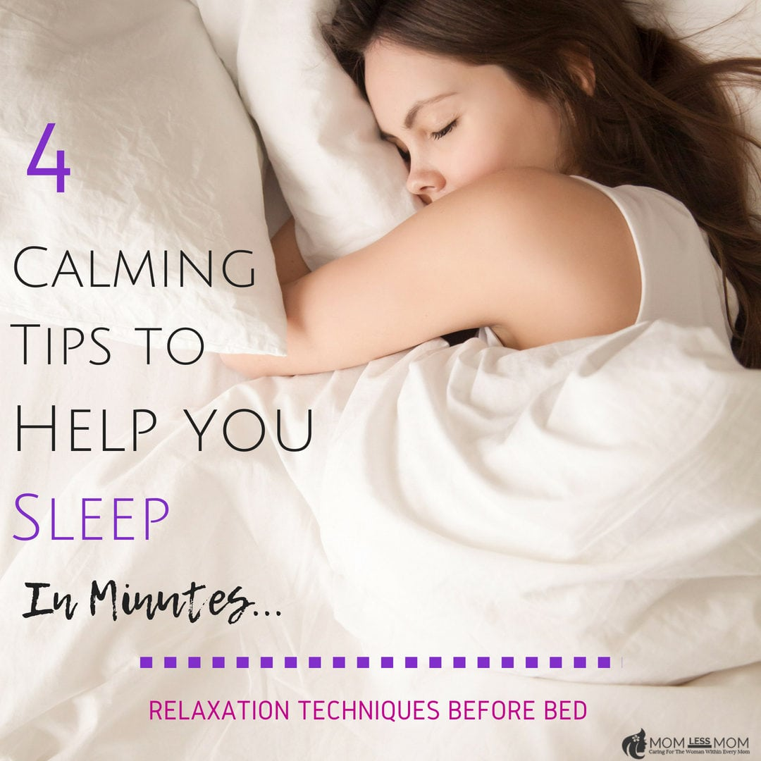 4 calming tips to help you sleep