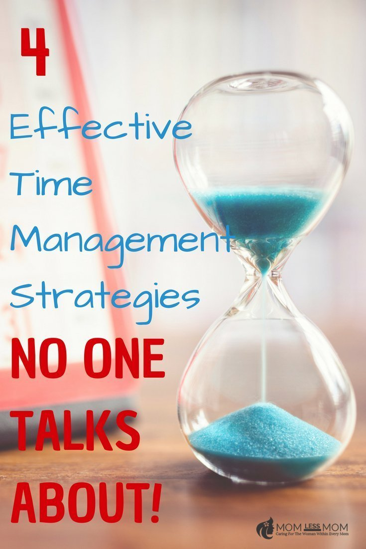 Being a Mom is not easy. Managing time when life is busy sometimes could get tricky. These 4 effective time management strategies will help you deal with life a bit saner and composed! #timemanagement #selfcare