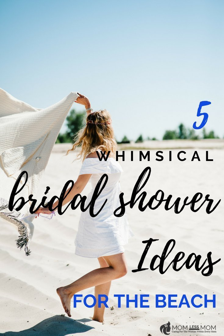 Summer is also the season for bridal showers and weddings. If a beach bridal shower is in your cards, have a look at these whimsical ideas to make it a blast! #bridalshowerideas