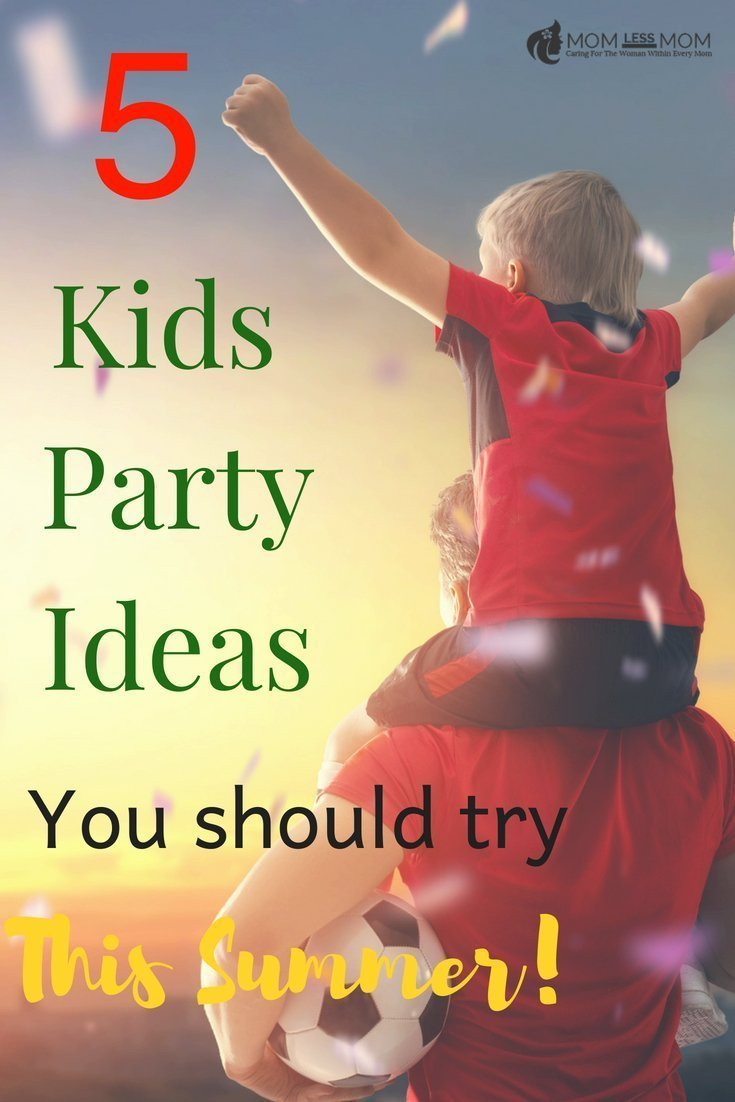 Summer is the time to have fun outdoors. And this summer kids party ideas for boys are so perfect to help you plan and throw the next fabulous party for family! #partyideas #summerparties