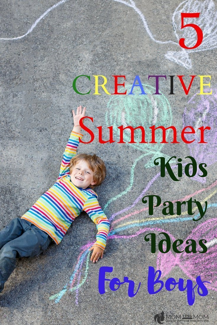 kids party ideas for boys