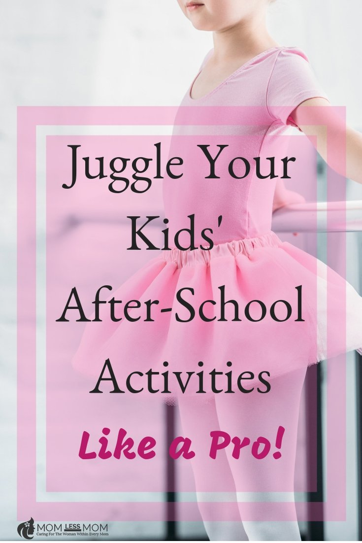 Balancing your kids' after school activities can be tough as a full time working parent . These practical tips might help you become a juggling pro!