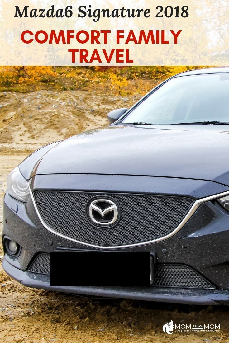 Mazda6 Signature sedan is perfect for family travel