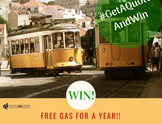 Win free gas for a year contest