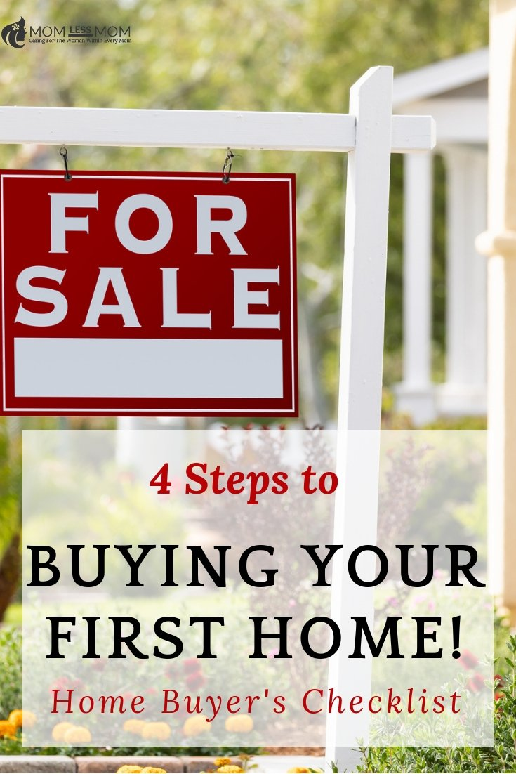 steps to buying your home for the first time