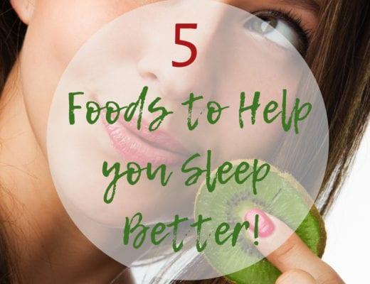 5 foods to help you sleep through the night