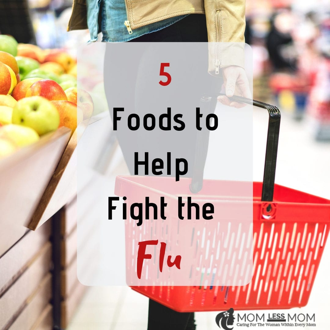 five foods to help with the flu