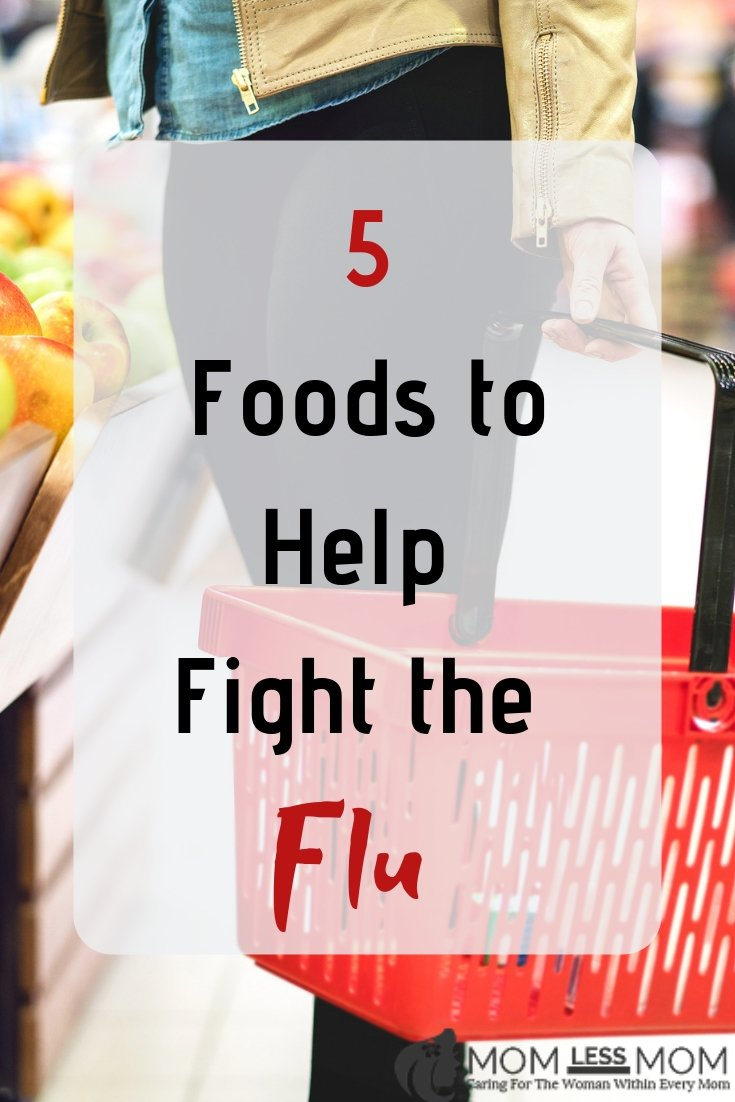 Five foods to help you get through flu season that you have in your kitchen and five more to add to your grocery list #flupreventiontips